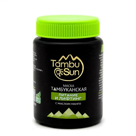 TambuSun, Маска для лица «Питание и лифтинг», 100 мл