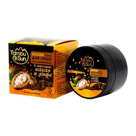 TambuSun, Скраб для лица Golden «Омолаживающий», 50 мл