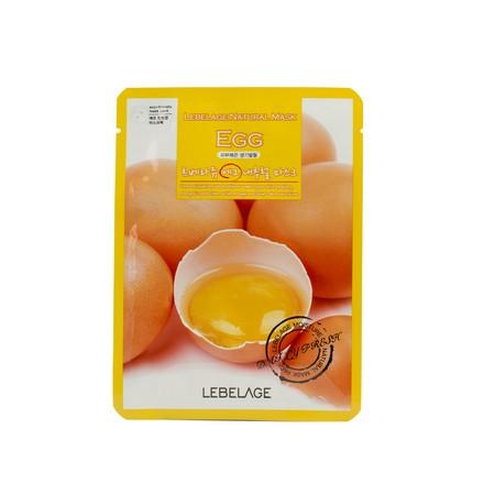 Lebelage, Тканевая маска для лица с экстрактом яйца, 23 мл
