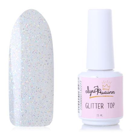 Луи Филипп, Топ для гель-лака Glitter №3, 15 мл