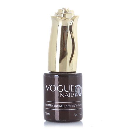 Vogue Nails, Каучуковый топ без липкого слоя, 10 мл