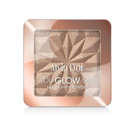 Alvin D`or, Хайлайтер You Glow Girl, тон 03