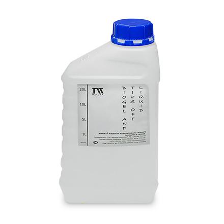 Masura, Жидкость для снятия типсов и био-гель покрытия, 1000 мл (УЦЕНКА)