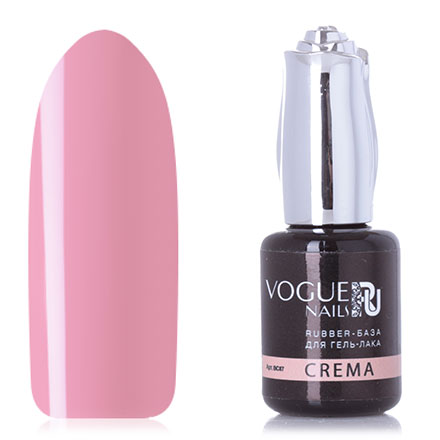 Vogue Nails, База для гель-лака Rubber, crema, 18 мл