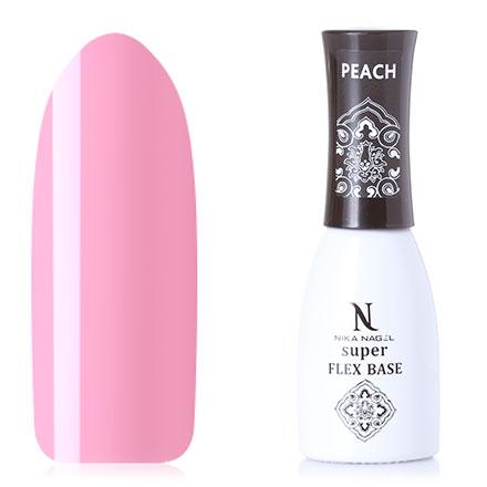 Nika Nagel, База Super Flex, Peach, 10 мл