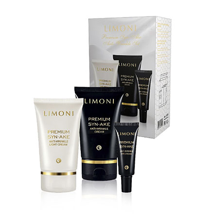 LIMONI, Набор Premium Syn-Ake Anti-Wrinkle Care №02