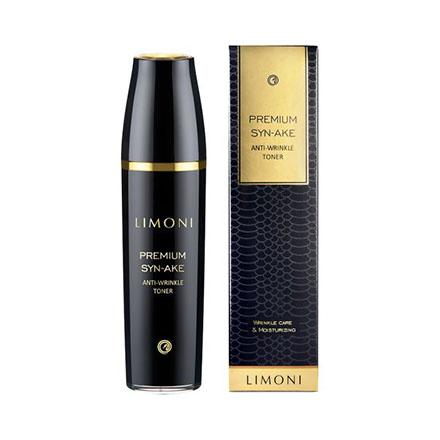 LIMONI, Тонер для лица Premium Syn-Ake Anti-Wrinkle, 120 мл