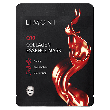 LIMONI, Маска для лица Q10 Collagen, 23 г