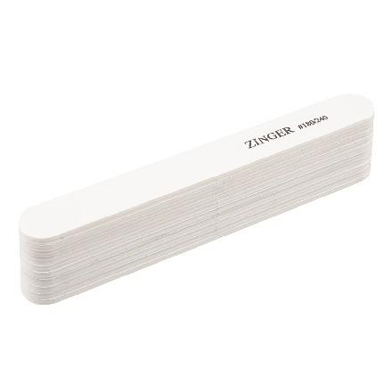 Zinger, Набор прямых пилок, белый, 180/240