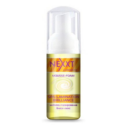 NEXXT professional, Мусс-пенка SPA-lamination Brilliance, 150 мл