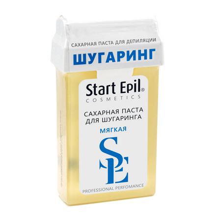 Start Epil, Сахарная паста для депиляции в картридже «Мягкая», 100 г