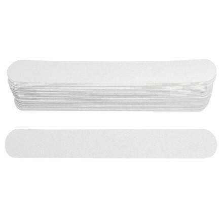 Ice Nova, Набор сменных файлов для прямой пилки, белые, 100 грит, 18 см