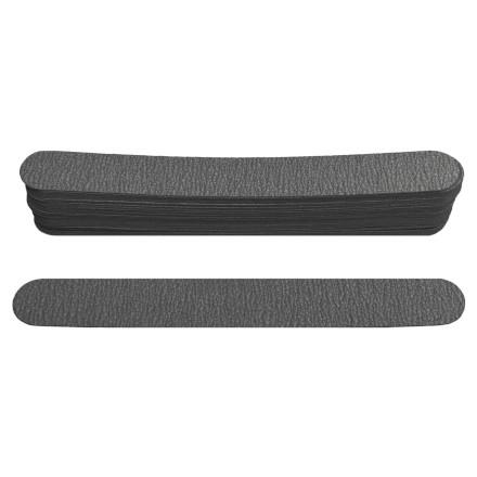 Ice Nova, Набор сменных файлов для прямой пилки, черные, 150 грит, 15 см