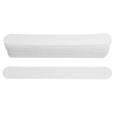 Ice Nova, Набор сменных файлов для прямой пилки, белые, 100 грит, 15 см