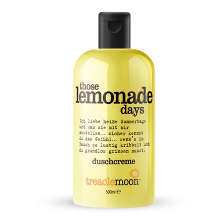 Treaclemoon, Гель для душа Those Lemonade Days, 500 мл
