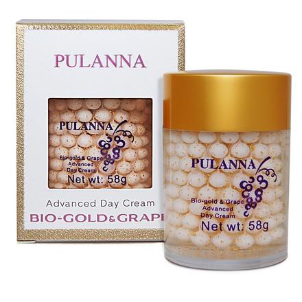 Pulanna, Дневной крем для лица Bio-Gold & Grape, 58 г