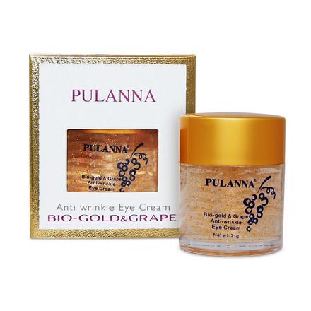 Pulanna, Крем для век Bio-Gold & Grape, 21 г