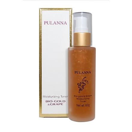 Pulanna, Тоник для лица Bio-Gold & Grape, 60 г