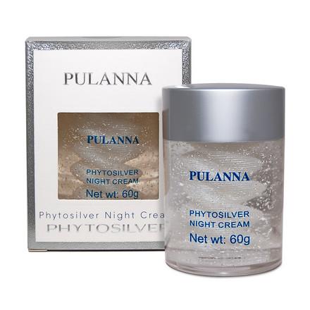 Pulanna, Ночной крем для лица Phytosilver, 60 г