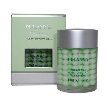 Pulanna, Дневной крем для лица Green Tea, 60 г
