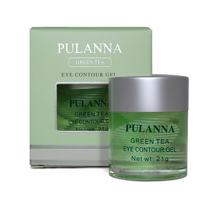 Pulanna, Гель для век Green Tea, 21 г