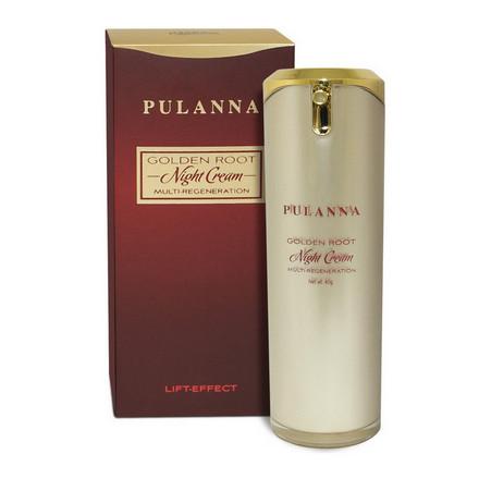 Pulanna, Ночной крем для лица Golden Root, 40 г