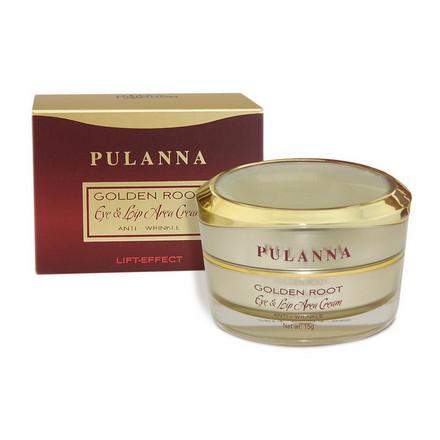 Pulanna, Крем для контура век и губ Golden Root, 15 г