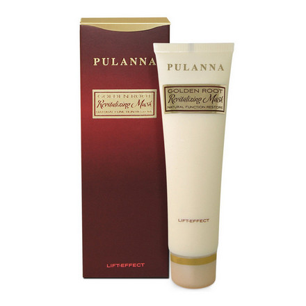 Pulanna, Маска для лица и шеи Golden Root, 60 г
