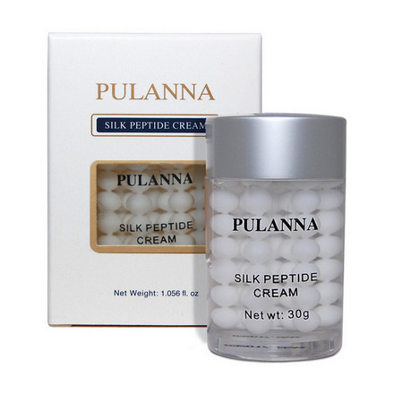 Pulanna, Крем для лица Silk Peptid, 30 г