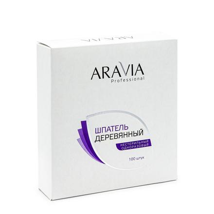 ARAVIA Professional, Шпатели для депиляции, деревянные, 100 шт.