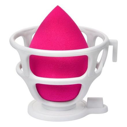 LIMONI, Спонж для макияжа Blender Makeup, с корзинкой, красный