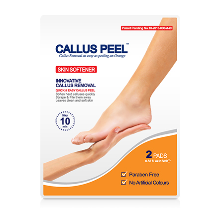 Callus Peel, Патчи для пилинга стоп Skin Softener, 2 шт. (УЦЕНКА)