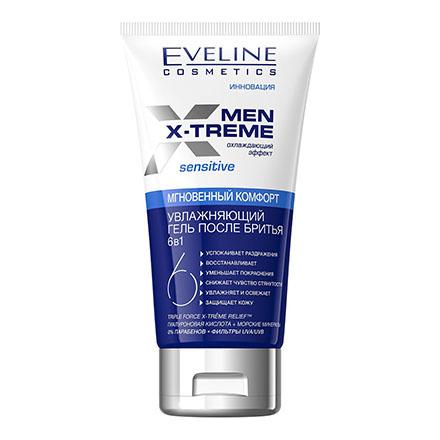 Eveline, Гель после бритья Men X-Treme 6 in 1, 150 мл