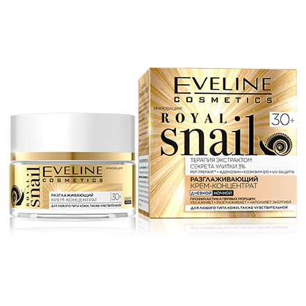 Eveline, Крем-концентрат для лица Royal Snail 30+, 50 мл