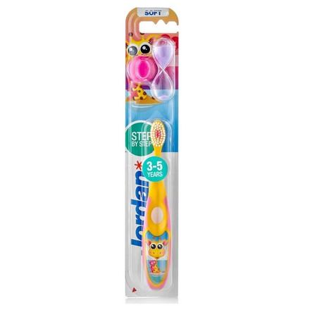 Jordan, Детская зубная щетка Step by Step 3-5, жираф