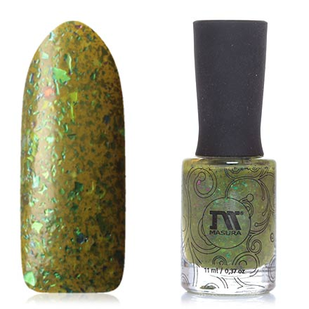 Masura, Лак для ногтей «Золотая коллекция», Forest fairy, 11 мл (УЦЕНКА)