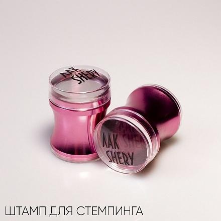 ЛакSHERY, Печать для стемпинга розовая, большая
