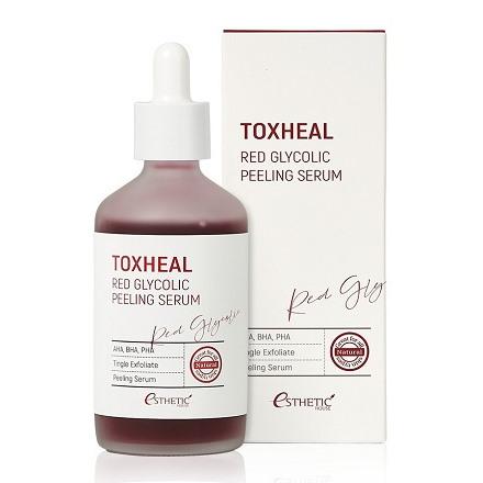 Сыворотка-пилинг Toxheal Red Glyucolic с кислотами
