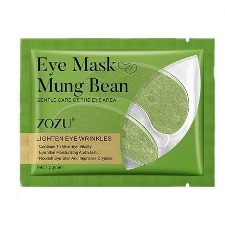 ZOZU, Патчи для глаз Mung Bean, 1 пара