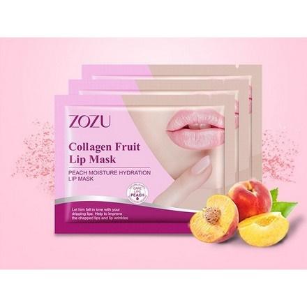 ZOZU, Патч для губ Peach Moisture Hydration, 1 пара