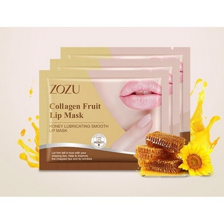 ZOZU, Патч для губ Honey Lubricating Smooth, 1 пара