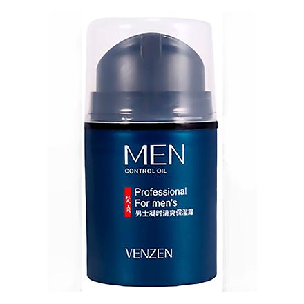 VENZEN, Крем с гиалуроновой кислотой для лица Men, 50 г