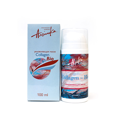Альпика, Маска для лица Collagen-Bio, 100 мл