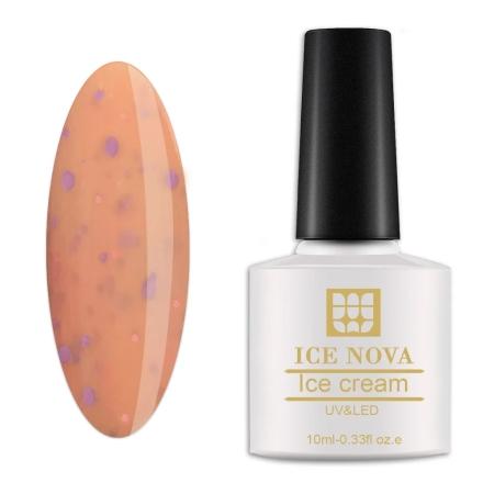 Гель-лак Ice Nova «Мороженое» №002