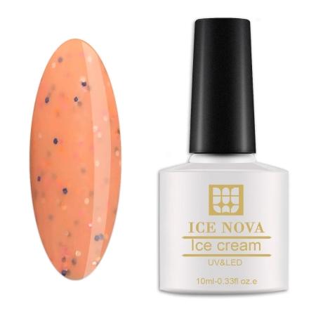 Гель-лак Ice Nova «Мороженое» №015