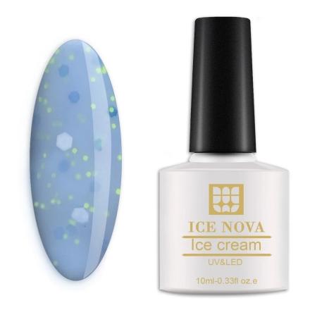 Гель-лак Ice Nova «Мороженое» №020