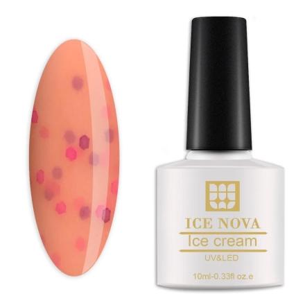 Гель-лак Ice Nova «Мороженое» №037