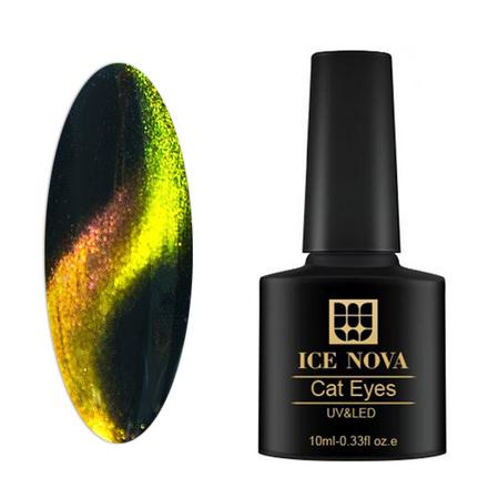 Гель-лак Ice Nova «Галактика Кошачий глаз 5D» №2
