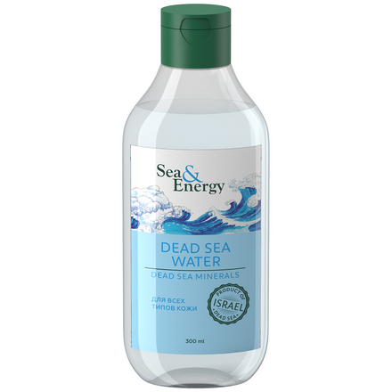 Sea & Energy, Вода Мертвого моря, 300 мл