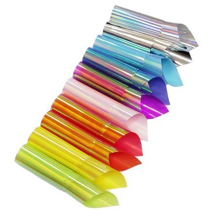 De.Lux, Набор декора для маникюра «Битое стекло», цветной